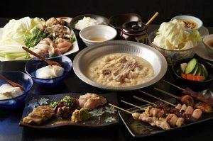 町田にある鶏料理専門の居酒屋「とりいちず」のメニュー