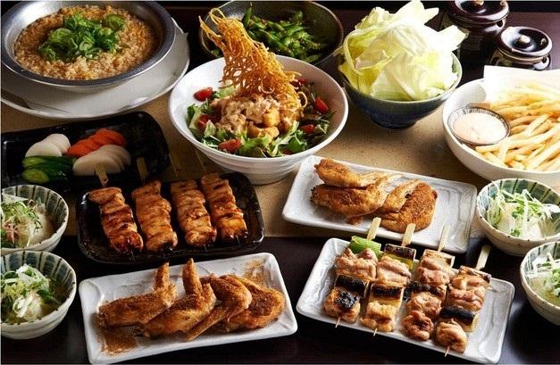とりいちず 町田中央通りの食べ飲み放題コース
